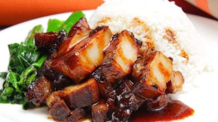 天天学做菜: 电饭锅叉烧饭, 食材, 制作方法都很简单, 想不想试试!