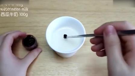 蛋糕裱花教学视频烘焙教学-好Q萌的西瓜面包西点师培训
