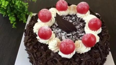 抹茶蛋糕的做法烤箱 烘焙教程视频 奶油蛋糕的做法大全