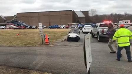 美国校园枪击案致2死17伤 15岁枪手被捕