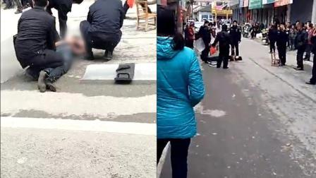 灌阳发生命案3人被砍死, 民警鸣枪击倒嫌疑人