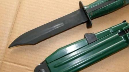 特工专用异形枪,既能劈砍又能在特种作战中迷惑敌人