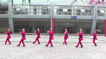 广场舞: 《红红的日子》重庆叶子广场舞, 正反面示范, 祝大家新年红红火火