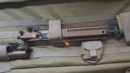 CM901模块式卡宾枪:机匣重组成不同武器实现理想化全模改装
