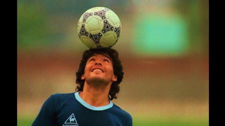 不服不行, 马拉多纳这两下踢球的球感, 世界第一!