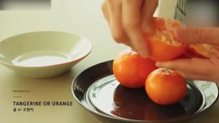蛋糕培训小清新酸甜香橙马芬蛋糕1西点蛋糕