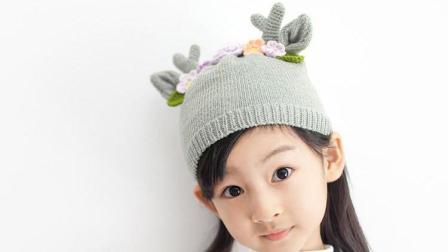 【金贝贝手工坊173辑】M42森林乐园儿童帽—小鹿帽毛线手工钩针编织宝宝帽子如何织