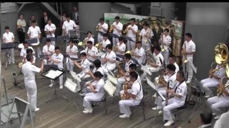 日本海自演军乐团奏这首歌, 被亚历山大红旗歌舞团吊打!