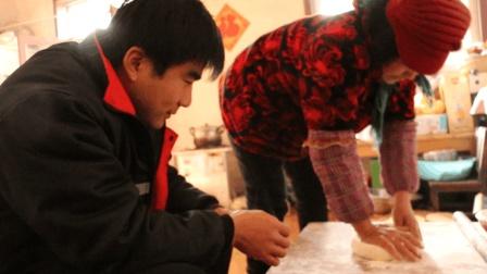 农村妈妈教果冻烙油饼, 这种做法方法简单易学, 还是小时候的味道