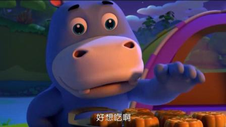 幼儿早教奇妙的汉字游戏9: 谁偷吃了月饼? 跟奇奇学习汉字