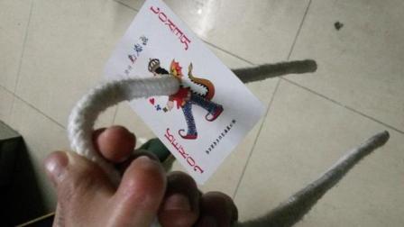 超凡魔术师大揭秘04: 绳子找牌魔术揭秘, 简单实用!