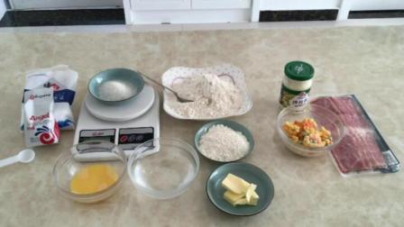 家庭烘焙 制作生日蛋糕的全过程视频 糕点的做法大全和图片