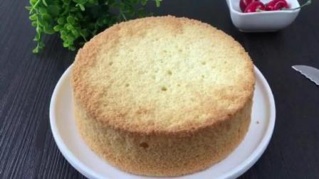 简单烘焙蛋糕做法 面包烘焙技术 学做生日蛋糕