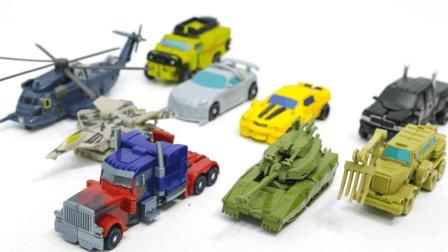 变形金刚Cyberverse系列 霸天虎变形汽车人玩具