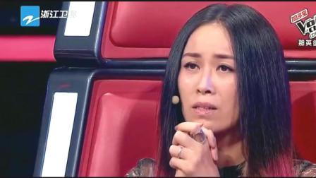 那英组最心酸的淘汰, 她做出选择后立马崩溃, 趴汪峰身上哭出声音