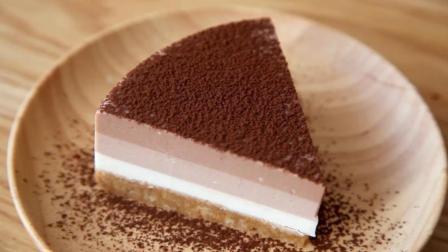 免烤免烘焙的榛子巧克力芝士蛋糕