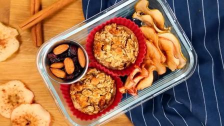 营养师推荐: 时尚早餐, 烤燕麦面包苹果片, 帮你健康营养瘦身