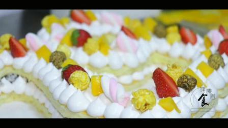 春节降雪天做创意数字蛋糕, 比打手游健康多了