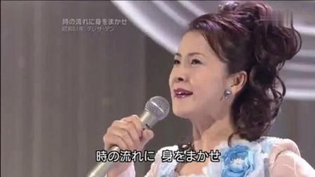 东瀛女子演唱《北国之春》优雅高贵, 举手投足, 尽显东方之美!