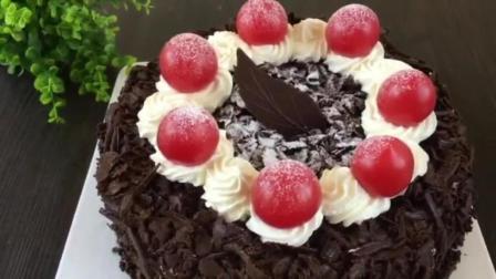 学做生日蛋糕 面包烘焙技术 简单烘焙蛋糕做法