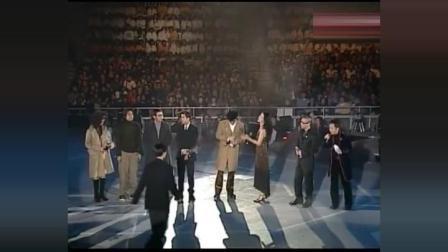 谢霆锋18岁获奖时的珍贵视频, 那时候的他真的是颜值巅峰!