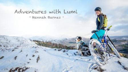 一人一车一宠物, 骑上ENDURO和亲爱的宠物一起在雪地撒欢吧!