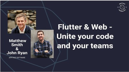 Flutter & Web - Unite your code and your teams (Dart Conference 2018)