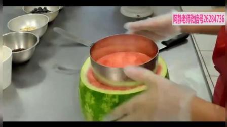 水果蛋糕丨正宗西瓜蛋糕的做法视频