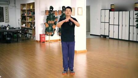 中国传统武术, 形意拳之闪弹顺钻, 过步钻拳!