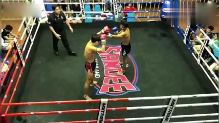 四川刘旭泰国客场, 终结了132连胜泰拳老蒋, 直接KO!