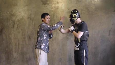 中国传统武术, 八极拳三靠手劈锤, 教练手把手教你!