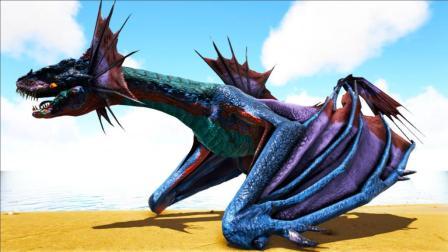 《方舟生存进化》冰属性飞龙, 是一个奶猪型恐龙