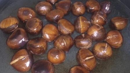 超简单的家常板栗做法, 不用煮不用炒, 出锅味道不输糖炒栗子