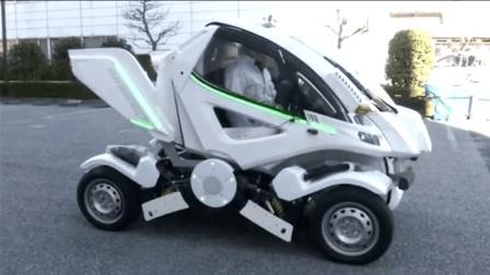 日本发明了变形收缩汽车, 售价高达46万, 刚一亮相就卖走了30辆