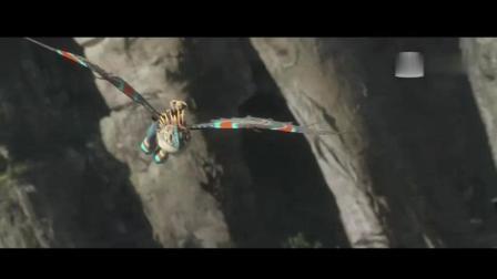 可以骑着到处飞的龙, 小时候的梦想! 很真实!