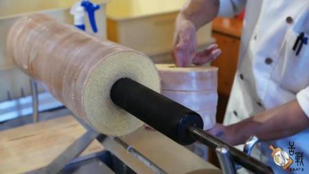 面包店的面包为什么长得都一样? 看了这个视频, 你就知道了, 面包加工制造过程