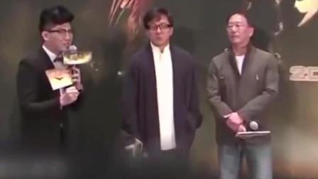 成龙外国综艺当场被辱: 情绪失控直接打主持人!