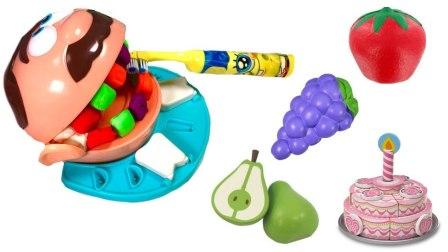 玩具水果蛋糕 大头玩具牙齿