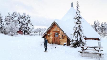 PS效果—下雪效果制作, 将你置入冰天雪地般的场景(1)