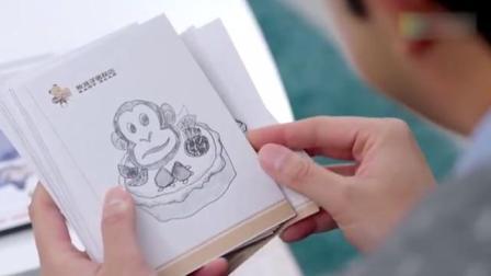 熊孩子太懂事,自己画画来丰富蛋糕图案,真是替自己爹操碎了心!