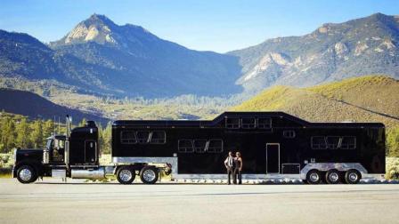 世界上最大的房车, 可同时容纳四十人居住, 造价高达2520万