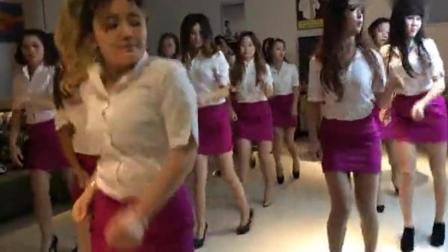 酒店企业文化员工舞