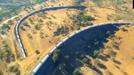 世界上最长的火车! 有多长! 若不是亲眼所见, 怕是不敢相信