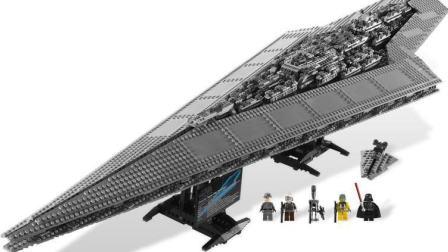 乐高世界★LEGO 星战系列 帝国超级歼星舰 4399小游戏
