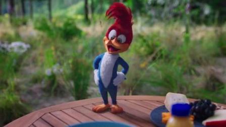 最新真人版《啄木鸟伍迪》一如既往的爆笑! 这才是真正回忆