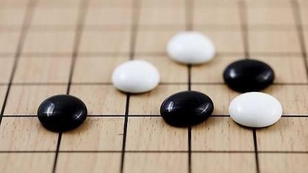 【中国围棋】贴着厚势吃大亏围棋复盘入门围棋对战培训