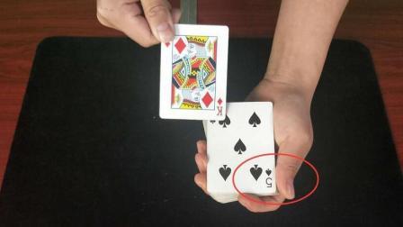 扑克牌为什么会瞬间变化, 没有任何机关! 原来这么简单