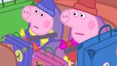 小猪佩奇: 猪奶奶让佩奇和乔治搅拌圣诞布丁, 并且许下圣诞愿望