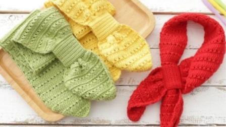 【金贝贝手工坊178辑】M62小时代儿童围巾毛线手工钩针编织宝宝围巾围脖毛线最新织法
