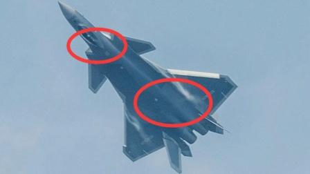 中国歼20战机发生改变, 采用空气动力系统, 美军担心的来了